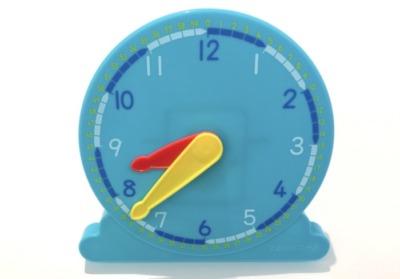 Z会幼児年長4月号の時計のおもちゃの効果