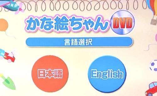 七田式かな絵ちゃんDVDの効果