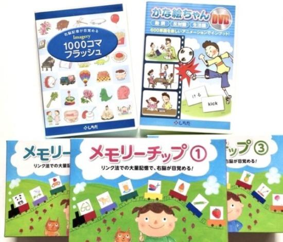 七田式DVDカードの効果