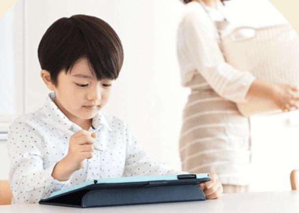 スマイルゼミ幼児タブレット1人で学習