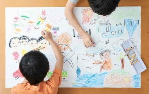 幼児のお絵描きの効果