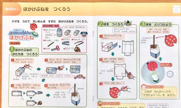 Z会小学生1年生経験学習理科ブログ