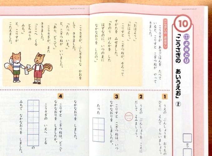 Z会小学生1年生国語ハイレベル