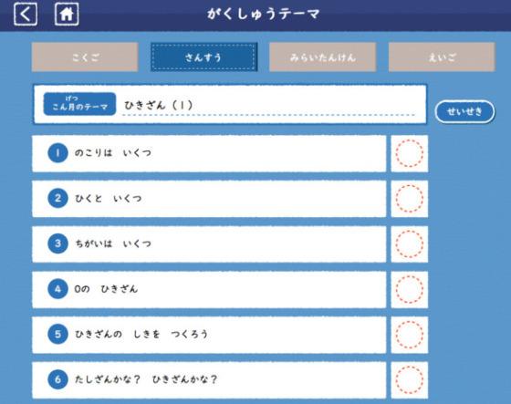 Z会小学1年タブレット算数口コミ